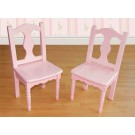Lindsey Pink Extra Chair Set