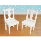 Lindsey White Extra Chair Set