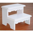 Lindsey White Step Stool